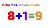 Puedo SUMAR en español - Addition drills for Spanish class