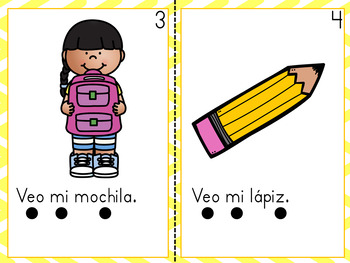 Puedo leer sobre mi escuelita / Spanish Back to School Guided Readers