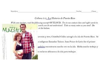 Puerto Rican History In Spanish