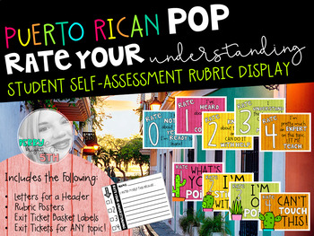 Puerto Rican Pop Rate Your Understanding Display