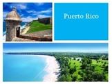 Puerto Rico slideshow  in PDF format + two activities