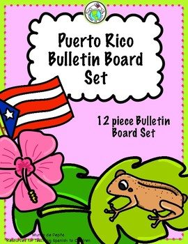 Puerto Rico Bulletin Board Set