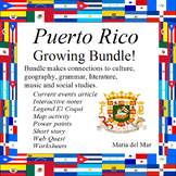 Puerto Rico Growing Bundle in Spanish