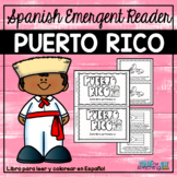 Puerto Rico - Spanish Coloring and Emergent Reader