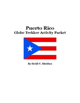 Puerto Rico Globe Trekker Activity Packet