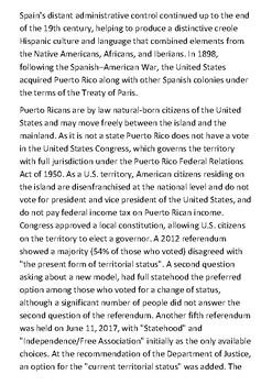 Puerto Rico Handout