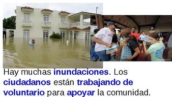 Puerto Rico Hurricane Maria TPRS, Helping the community Vocab