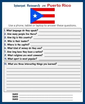 Puerto Rico (Internet Research)