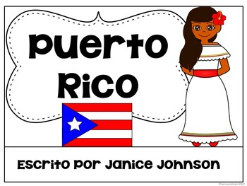 Puerto Rico Reader {en español} & Cut & Paste ~ Simplified for Language Learners