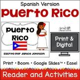 Puerto Rico Reader {en español} & Cut & Paste ~ Simplified