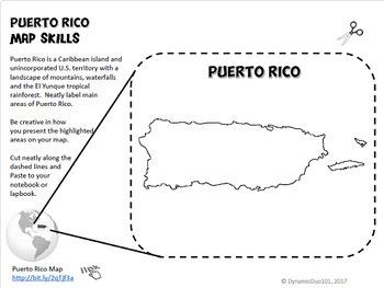 Puerto Rico, Sonya Sotomayor Interactive Notebook Activities w/ Test Prep 2 Pack