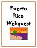 Puerto Rico Webquest