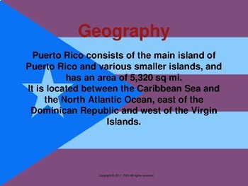 Spanish culture: a mini unit about Puerto Rico