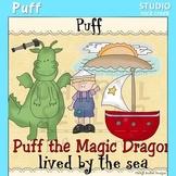 Puff the Magic Dragon Clip Art C. Seslar