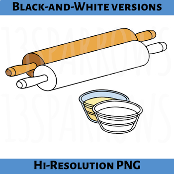 Puff Pastry Sheets Clip Art