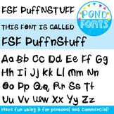Font - Puff n Stuff