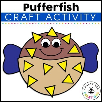 Puffer Fish Cut and Paste