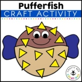Pufferfish Craft | Ocean Animals Activity | Sea Life | Ocean Habitat Activities