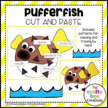 Pufferfish Craft (Label It!)