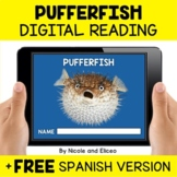 Pufferfish Reading Comprehension for Google Classroom