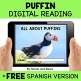 Puffin Reading Comprehension for Google Classroom - Distan