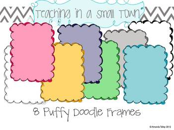 Puffy Doodle Frames