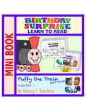 Puffy the Train: Early Reader Mini Book: BIRTHDAY SURPRISE