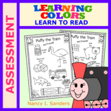 Puffy the Train: LEARNING COLORS: Assessment
