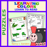 Puffy the Train: LEARNING COLORS: Puzzles