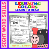 Puffy the Train: LEARNING COLORS: Sight Word Skills
