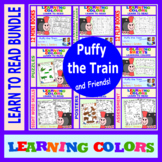Puffy the Train: Learning Colors Bundle