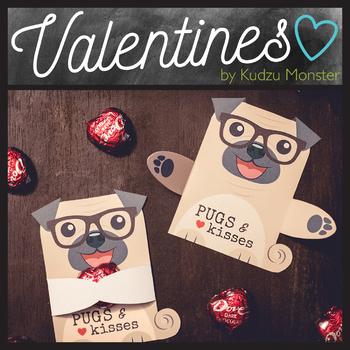 Pug Valentine Candy Hugger