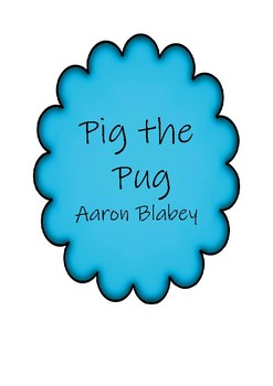 Pig the Pug Activities