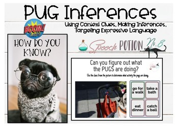 A Potion for Inferencing: Pugs Inferencing BOOM Cards