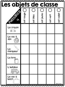 Puissance 4 (jeu de verbes) French Verb Game