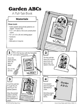 Pull-Tab Book - The Garden ABCs