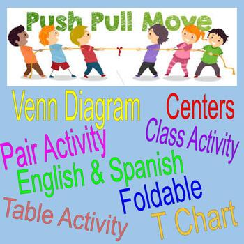PUSH and PULL BUNDLE - English and Spanish!!