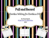 Pull and Record Pack {Number Writing for Numbers 0-10}
