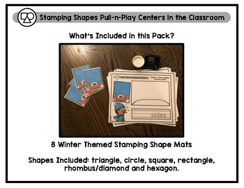 Pull-n-Play Winter Stamping Shape Mats