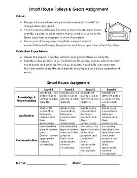 Pulleys & Gears Assessment