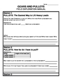 Pulleys and Gears Centre - Worksheet