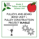Pulleys and Gears Unit + Pulley Construction Project Bundle