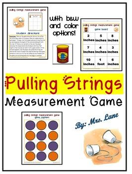 Pulling Strings Measurement Game