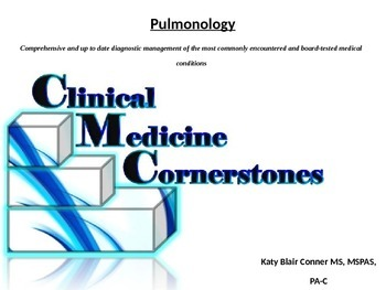 Pulmonary Conditions, Diagnosis and Treatments Nursing Medical PA Premed