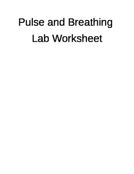 Pulse and Breathing Rate
