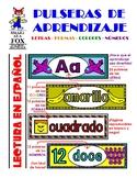 Pulseras de Aprendizaje- Colores, Letras, Formas y Numeros!
