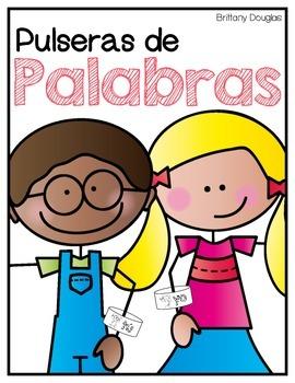 Pulseras de Palabras--Spanish Sight Word Bracelets