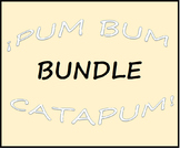 Pum Bum Catapum! Board Game (BUNDLE) – Multiple Verb Tenses
