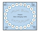 Pum Bum Catapum! Board Game – Present Stem-Changing Verbs