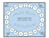 Pum Bum Catapum! Board Game – Regular Present Perfect/Plup